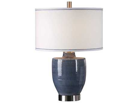 Uttermost Sylvaine Blue-Gray Table Lamp
