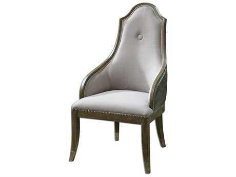 Uttermost Sylvana Gray Accent Chair UT23161