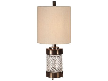 Uttermost Thorton Glass Table Lamp UT296711