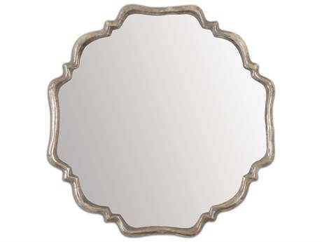 Uttermost Valentia 33 x 33 Silver Wall Mirror UT12849