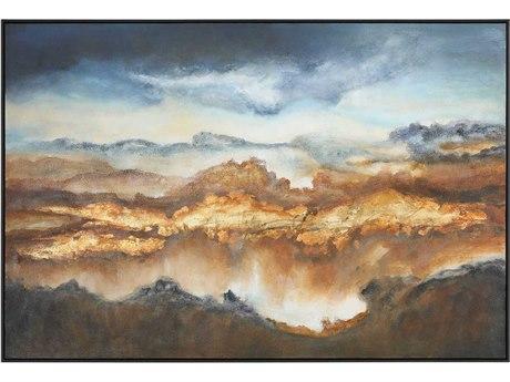 Uttermost Valley Of Light Canvas Wall Art UT51301
