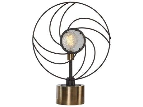 Uttermost Ventilador Glass Table Lamp UT295891
