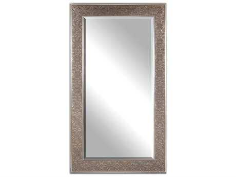 Uttermost Villata 30 x 70 Antique Silver Wall Mirror