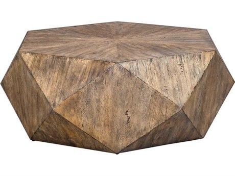Uttermost Volker 48'' Wide Hexagon Coffee Table UT25423