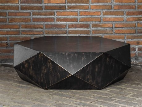Uttermost Volker 49'' Wide Hexagon Coffee Table UT25832