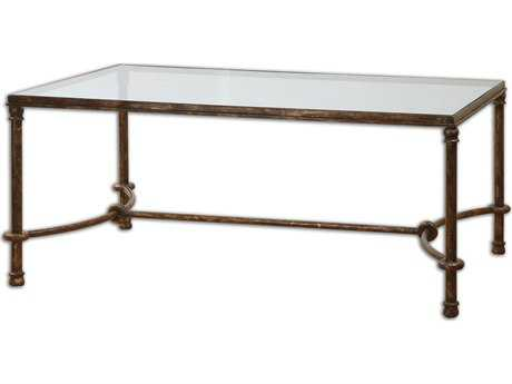 Uttermost Warring 48 x 28 Rectangular Iron Coffee Table UT24333