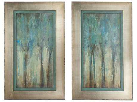 Uttermost Whispering Wind Framed Wall Art (2 Piece Set)