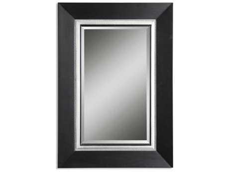Uttermost Whitmore 30 x 40 Black Vanity Wall Mirror
