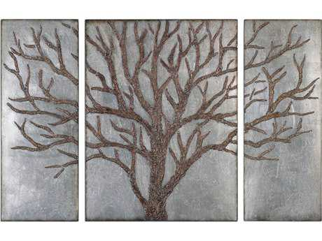 Uttermost Winter View Rustic Tree Metal Wall Decor UT13793