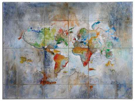 Uttermost World Of Color Modern Wall Art