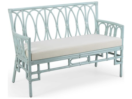 Wildwood Lamps Mint / Off White Accent Bench WL490474