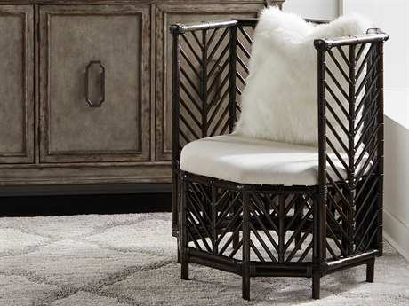 Wildwood Lamps Black Wash / Off White Accent Chair WL490156