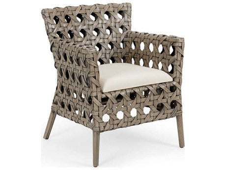 Wildwood Lamps Gray Stone / Off White Accent Chair WL490158