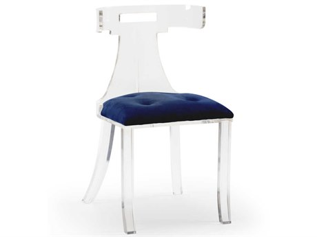 Wildwood Lamps Blue Accent Chair