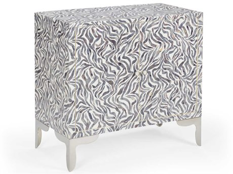 Wildwood Lamps White / Gray Accent Chest WL490177