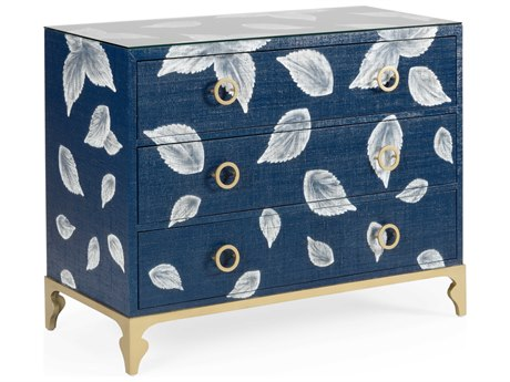 Wildwood Lamps Blue / Cream Clear Accent Chest WL490255