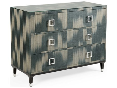 Wildwood Lamps Grey / Black Clear Nickel Accent Chest WL490312