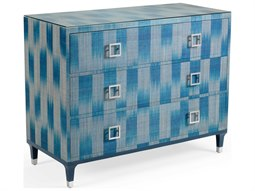 Grey / Teal Clear Nickel Accent Chest