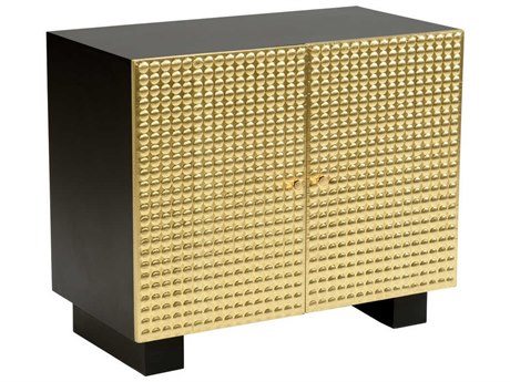 Wildwood Lamps Black / Polished Brass Accent Chest WL490431