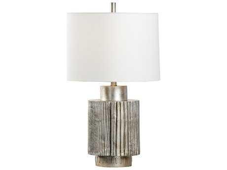 Wildwood Adagio Antique Silver Leaf Buffet Lamp WL22460