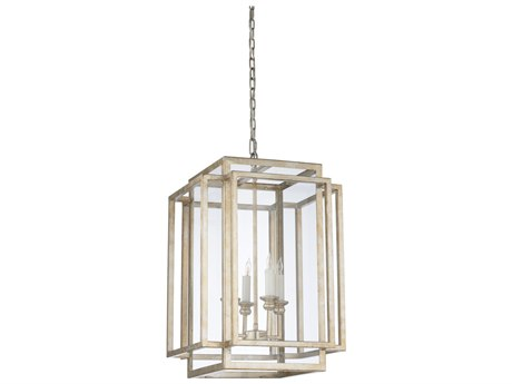 Wildwood Amherst Silver Four-Light 17'' Wide Chandelier WL67179