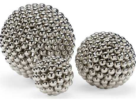 Wildwood Set Of 3 Ball Spheres Decorate Accent WL301142