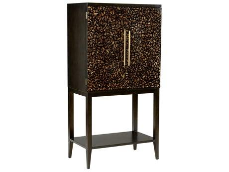 Wildwood Lamps Black Bar Cabinet WL490258