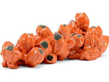 Wildwood Orange Barnacles Decorate Accent WL301178