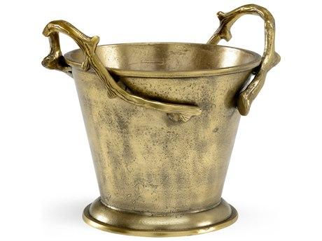 Wildwood Lamps Blue Ridge Brass Bucket