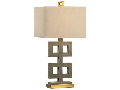 Uttermost Valtellina Taupe Gray Buffet Lamp Ut29299