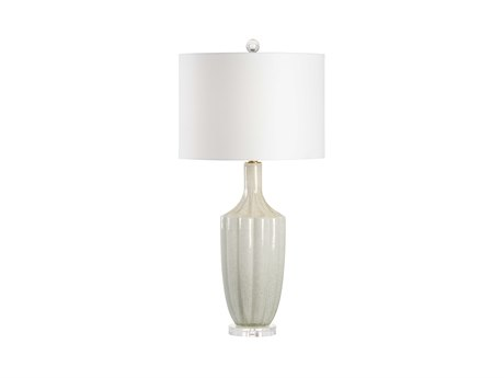 Wildwood Lamps White / Gold Flecks 1-light Buffet Lamp