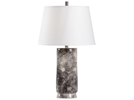 John Richard Drip Glaze Squattie Brass Table Lamp Jrjrl8457