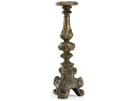 Wildwood Lamps Ornate Cast Composite Venetian Gold Candlestick WL300775