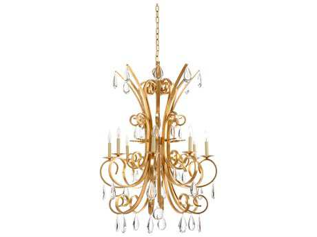 Wildwood Lamps Grand Stairs Chandelier -Gold WL23347