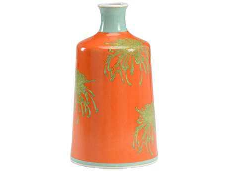 Wildwood Orange Chrysanthemum Vase WL301180