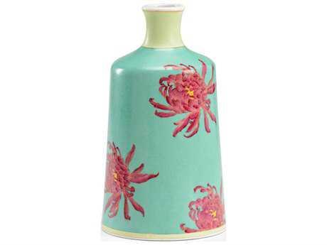 Wildwood Green Chrysanthemum Vase WL301181