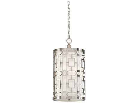 Wildwood Coco Nickel Three-Light 11.5'' Wide Pendant Light WL67047