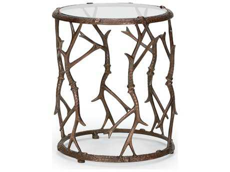Wildwood Lamps Elkmont Old Bronze 18'' Wide End Table