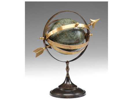 Wildwood Lamps Armillary Globe Oxidized Cast Brass Decorative Accent
