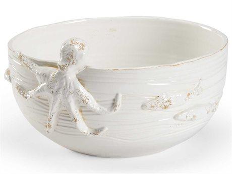 Wildwood Lamps White Glaze Decorative Plate WL301690