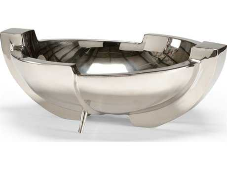 Wildwood Lamps Cast Brass Polished Nickel Bowl Decorative Bowl WL300637