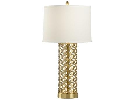 Wildwood Lamps Deena Brass Buffet Lamp WL47036