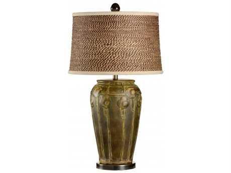 Wildwood Lamps Chetola Green Table Lamp WL217092