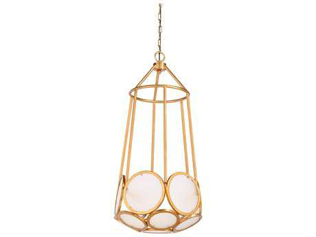 Wildwood Lamps Antique Gold Earlom Pendant