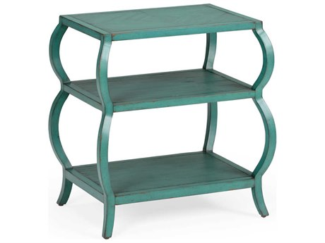 Wildwood Lamps Teal 24'' Wide Rectangular End Table WL490125