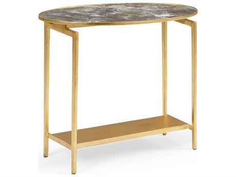 Wildwood Lamps Acid Wash 24'' Wide Oval End Table