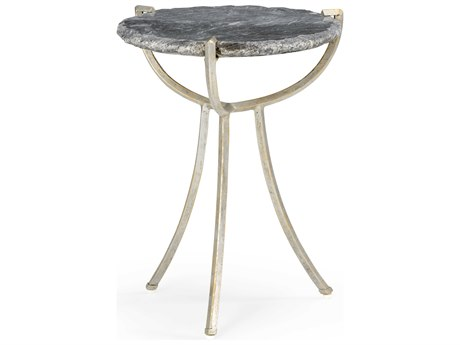 Wildwood Lamps Natural Gray 17'' Wide Round End Table WL490298