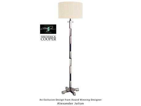 Wildwood Lamps Artemis VI Bronze Stacked Blocks Floor Lamp WL65057