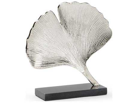 Wildwood Silver Ginkgo Decorate Accent WL301133