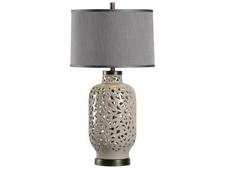 Wildwood Jakarta Lichen And Bronze Buffet Lamp WL13154